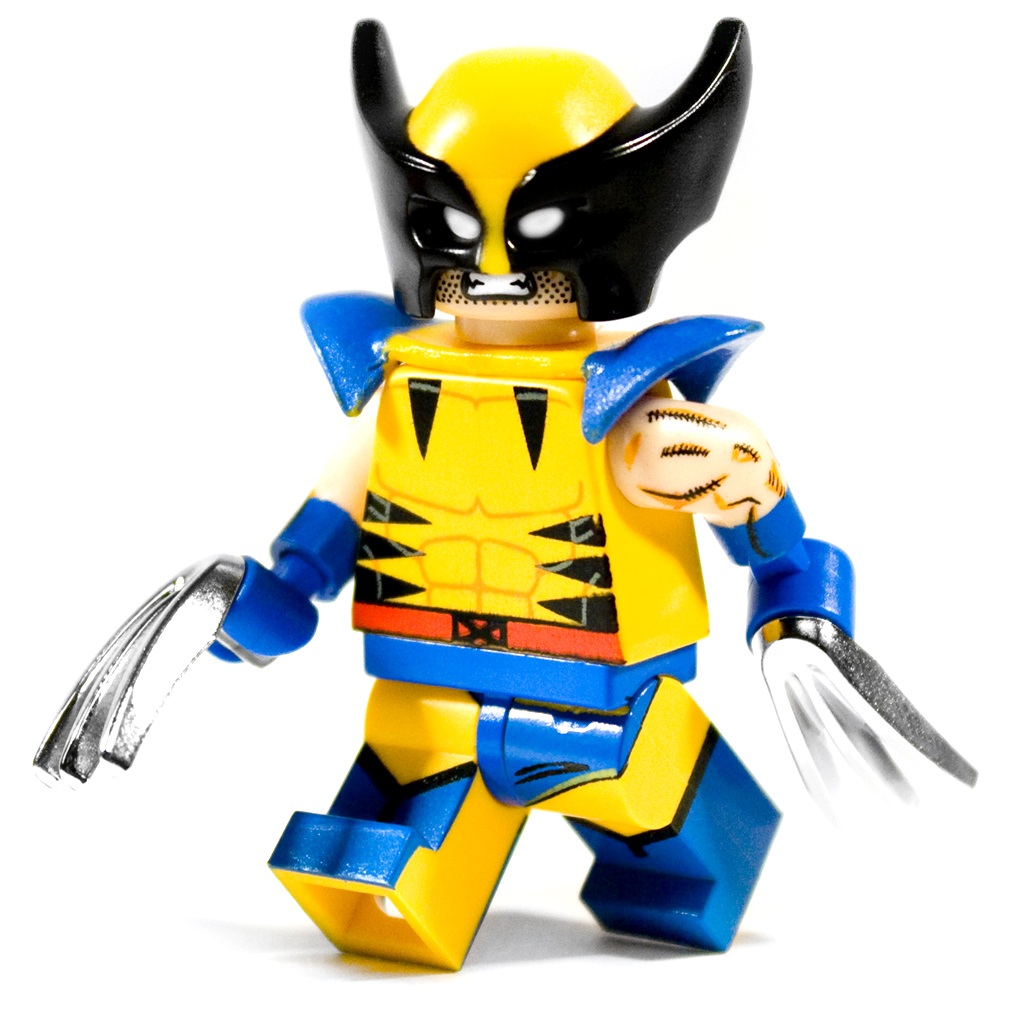 Kyle Osterhoudt | Chrome Claw Custom LEGO Minifigure